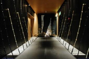 ウェスティンホテル東京(恵比寿) 日本料理「舞」にて、高岡愛の作品と工芸作家の作品をコーディネートさせて頂きました。